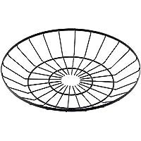 萬洋 丸型ワイヤーバスケット 大 91-159L