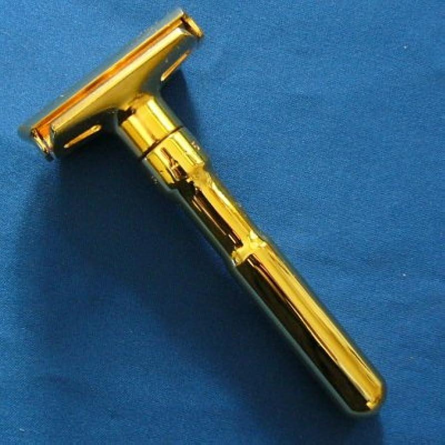 文字通りマーチャンダイザーテクトニックメルクール髭剃り(ひげそり) 702G FUTUR(フューチャー) (専用革ケース、替刃11枚付)