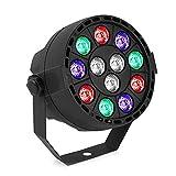 YeeSite ステージライト 12LED RGB DMX512 ディスコ・パーティー・演出・舞台照明用ディスコライト