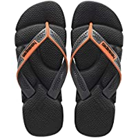havaianas Men's Power Flip Flop Sandals, Comfort Designed Footbed, Grippy