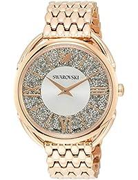 [スワロフスキー]Swarovski 腕時計 クリスタルライン グラム【CRYSTALLINE GLAM】クォーツ ローズゴールドカラーケース ホワイト文字盤 レディース 5452465 レディース 【並行輸入品】