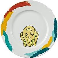 おもしろ食器 フェイス ディッシュ ムンクの叫び SAN2767-1