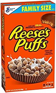 General Mills Reese's Puffs Breakfast Cereal Family Size- 19.7oz - / リーシーズ パフ ブレックファースト シリアル ファミリーサイズ 558