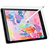 MoKo Paper-Like Screen Protector for iPad 9.7 2018 / iPad Pro 9.7 2016, Write, Draw and Sketch with The Apple Pencil Like on Paper-Roughness of Paper for iPad 9.7 2018 / iPad Pro 9.7 2016 - Clear