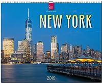 New York 2019: Grossformat-Kalender