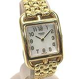 (エルメス)HERMES CC1.285 ケープコッド シェル文字盤 腕時計 K18YG/金無垢 レディース 中古