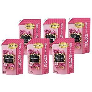 【ケース販売】 レノア ハピネス 柔軟剤 アンティークローズ&フローラル 詰め替え 超特大 1260ml×6個