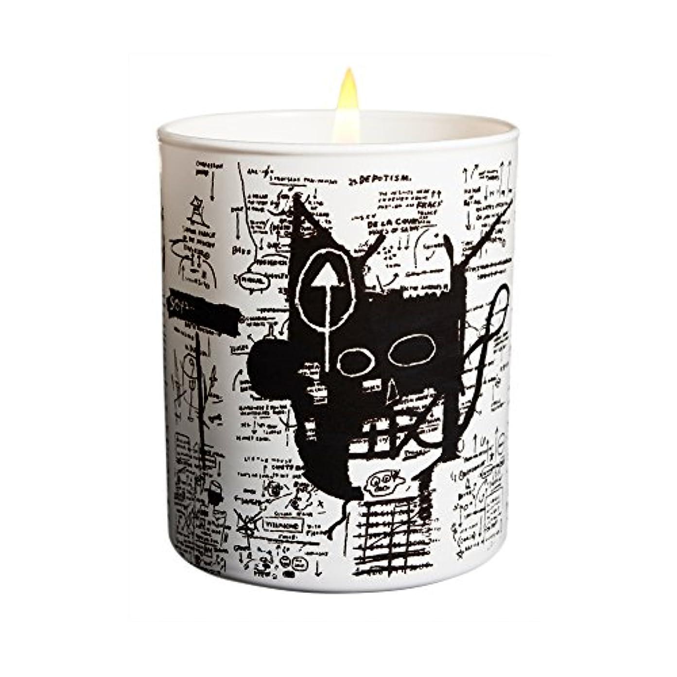ピックピア着実にジャン ミシェル バスキア リターン オブ ザ セントラル フィギュア キャンドル(Jean-Michael Basquiat Perfumed Candle