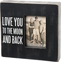 Primitives by Kathy Love You to The Moon and Back Box Frame by Primitives By Kathy