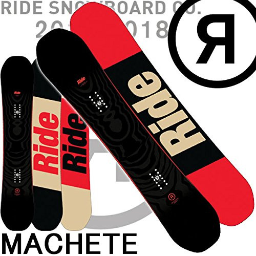 17-18 RIDE/ライド MACHETE メンズ 板 スノーボード 2018 158