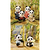 Calico Critters Wilder Panda Bear Family Baby Twin Sets by Calico Critters [並行輸入品]