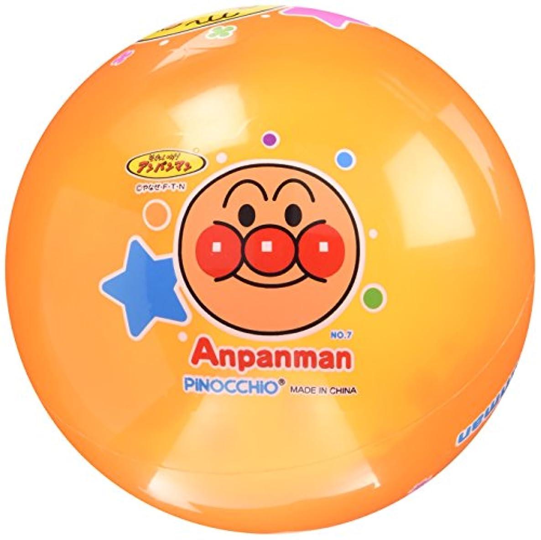 債務者高音測定可能アンパンマン カラフル7号ボール オレンジ