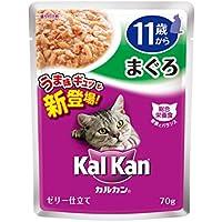 カルカン パウチ 高齢猫用 11歳から まぐろ 70g×16袋入り [キャットフード]