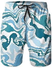 迷彩 メンズ サーフパンツ 水陸両用 水着 海パン ビーチパンツ 短パン ショーツ ショートパンツ 大きいサイズ ハワイ風 アロハ 大人気 おしゃれ 通気 速乾