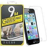 iPhone SE / iPhone5 / iPhone5S / iPhone5C 強化ガラスフィルム 0.26mm 全面保護フィルム (IP5/5S/5C対応)