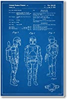 Boba Fett Patent–新しい有名な発明Star Wars青写真ポスター