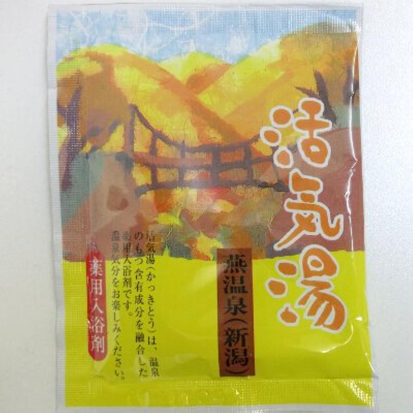 活気湯 燕温泉(シトラス)