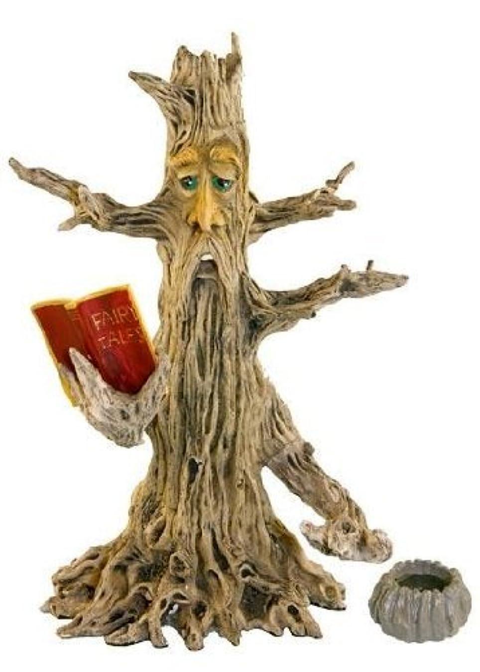 パーティションゲインセイとは異なりUpright Poet Tree Man Stick & Cone Incense Burner 28cm
