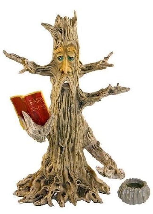 ドットマントルあたたかいUpright Poet Tree Man Stick & Cone Incense Burner 28cm