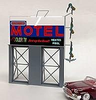 Miller Engineering MIE881651 HO-O Motel Roadside Billboard