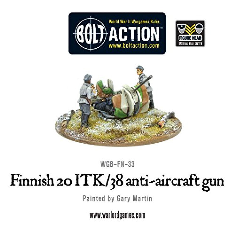 FINNISH 20 ITK/38 ANTI-AIRCRAFT GUN, 28mm Bolt Action Wargaming Miniatures