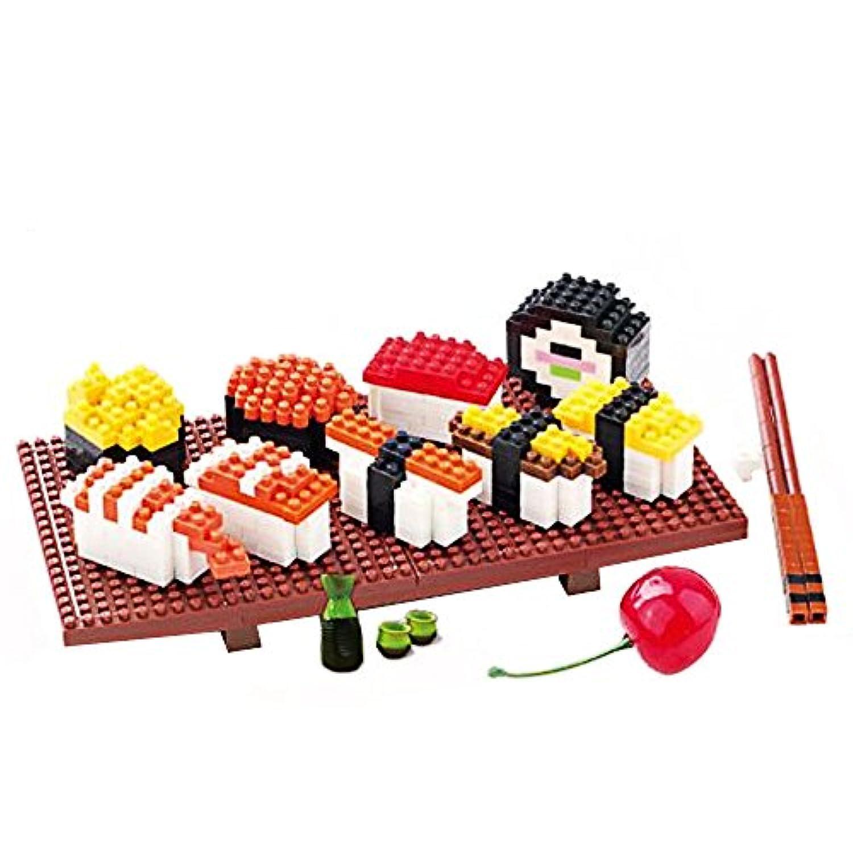 寿司ブロック ミニブロック 小型ブロック 積み木 ホワイトデープレゼント
