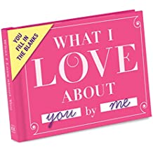 KNOCK KNOCK Fill In The Blanks Journal - What I Love About You