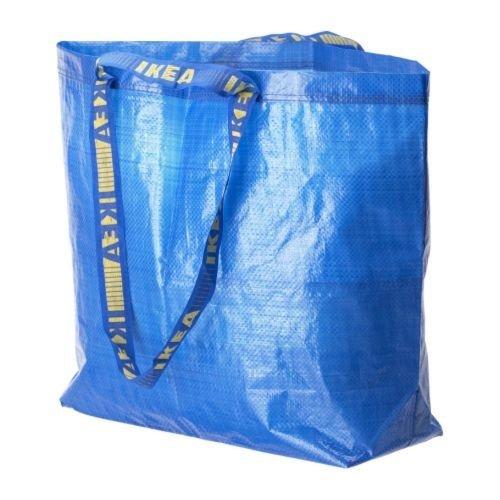 [イケア]IKEA フラクタ FRAKTA キャリーバッグ M ブルー(30161992)