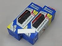 《国内正規代理店品》 Michelin POWER ENDURANCE【ミシュラン パワー エンデュランス】 2本 +zitensya depo ステッカー (レッド, 700×25C)