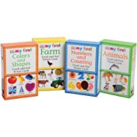 My First Touch & Feel Cards - 4 Complete Sets [並行輸入品]