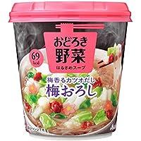 アサヒグループ食品 おどろき野菜 梅おろし 22.2g×6個