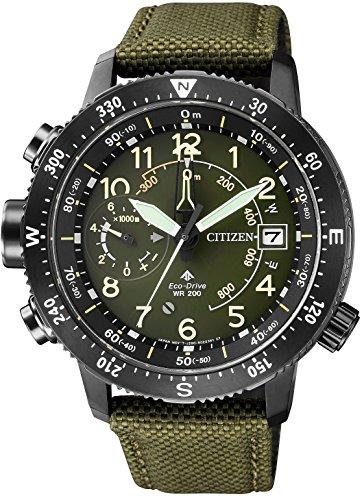 シチズン CITIZEN 腕時計 PROMASTER プロマスター ランド エコ ドライブ アルティクロン BN4046-10X メンズ