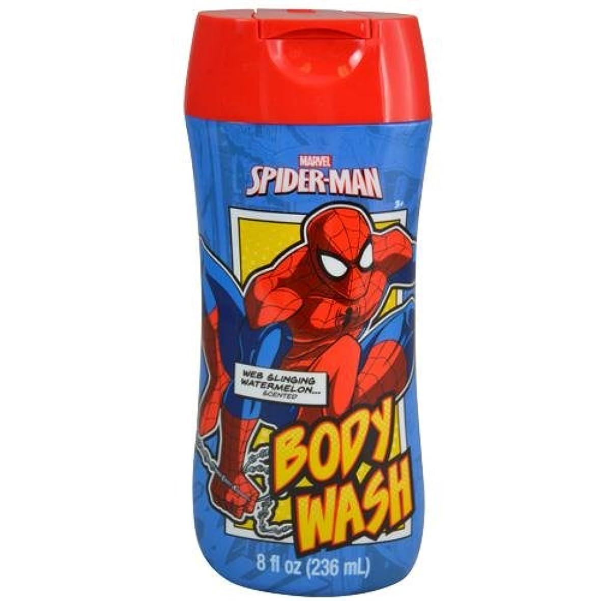 製油所筋肉のヒップスパイダーマン SPIDER-MAN ボディーソープ 12185 MARVEL お風呂 ボディ ソープ 子供用 キッズ ボディソープ MARVEL ボディウォッシュ マーベル ボディーウォッシュ【即日?翌日発送】