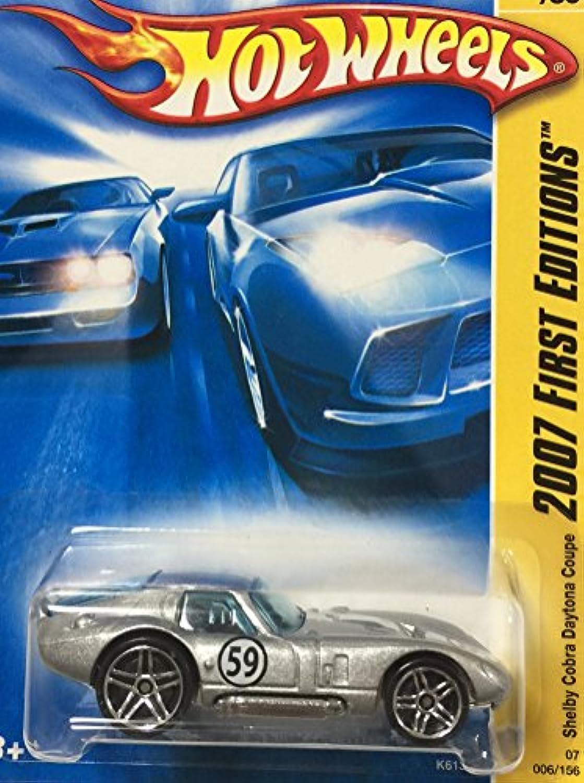 HOT WHEELS ホットウィール ford shelby cobra daytona coupe フォード シェルビー コブラ デイトナ クーペ シルバー #6