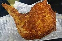 【からあげ鶏我道】 からあげ/小麦粉、卵を一切使わない、 オリジナルスパイスの味!! スパイシーチキン骨付きもも【冷凍】 揚げ調理済み 5本セット!