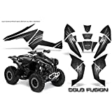 AMR Racing Graphics Can - Am Renegade 800 XRすべてYears ATVビニールラップキット – Cold Fusionブラック