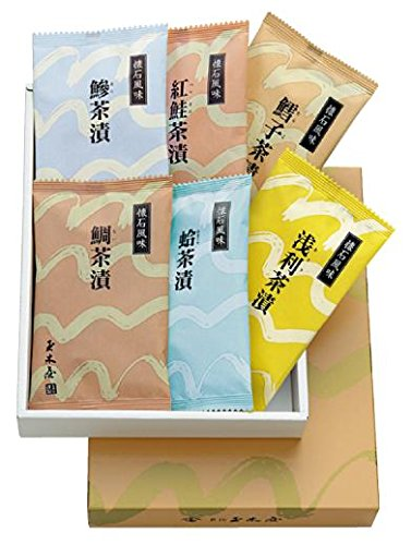 新橋玉木屋 懐石茶漬詰合せ(6袋入り) C-6
