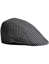 【ノーブランド 品】子供 ベレー帽 キャップ キャスケット フラット 帽子 ファッション アクセサリー 帽子 人気 ハンチング- グレー+黒