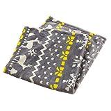 枕カバー mofua プレミアムマイクロファイバー とろけるような肌触り 洗える 静電気防止 ピロ―ケース 高密度 品質保証書付き ノルディック 43×90cm グレー