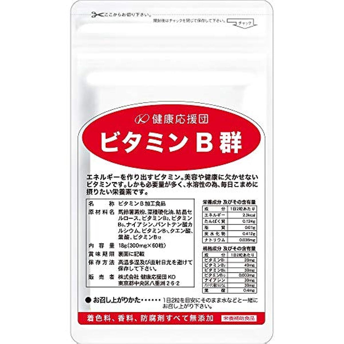ホスト行商人食欲健康応援団 お徳用ビタミンB群(6か月分)6袋360粒(葉酸プラス)