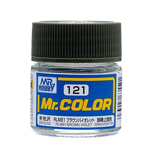 クレオス Mr.カラー C121 RLM81 ブラウンバイオレット