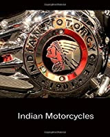Daily Organizer and Planner: Indian Motorcycles: 180 Day 8x10 6 Month Journal Notebook Undated Day Planner