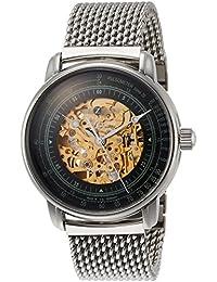 [ツェッペリン]ZEPPELIN 腕時計 100周年 グリーン文字盤 8656M-4 メンズ 【並行輸入品】