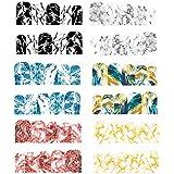 ネイルパーツ ネイルパーツ 大理石 ネイルステッカー ネイルシール デコ ウォーターシールネイルアートシール 3Dネイルシール ステッカー 貼り紙 綺麗 6ピース ハンドメイド材料