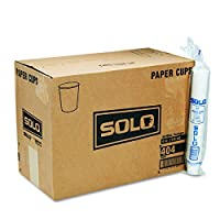 SOLO 404 4 Oz. Paper Water Cup White (5000-Pack) [並行輸入品]