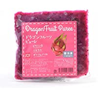 F&F 【無添加】冷凍ドラゴンフルーツ(ピタヤ)ピューレ 100g×10個セット