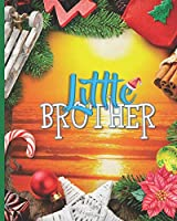 Little Brother: Puzzle Game Spot the Differences Maze Sudoku Word Search are Children Activities Book for Young Preschool Kids Age 4-8. Great Brain Teasers to Improve Students Motor Skills Critical Thinking Imagination Logic and Number Identification.