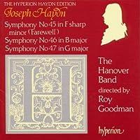 Symphonies 45-47 by Haydn