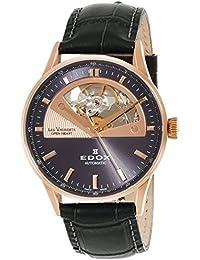 [エドックス]EDOX 腕時計 レ・ヴォベール  自動巻き3針 85019-37RG-GIR メンズ 【正規輸入品】