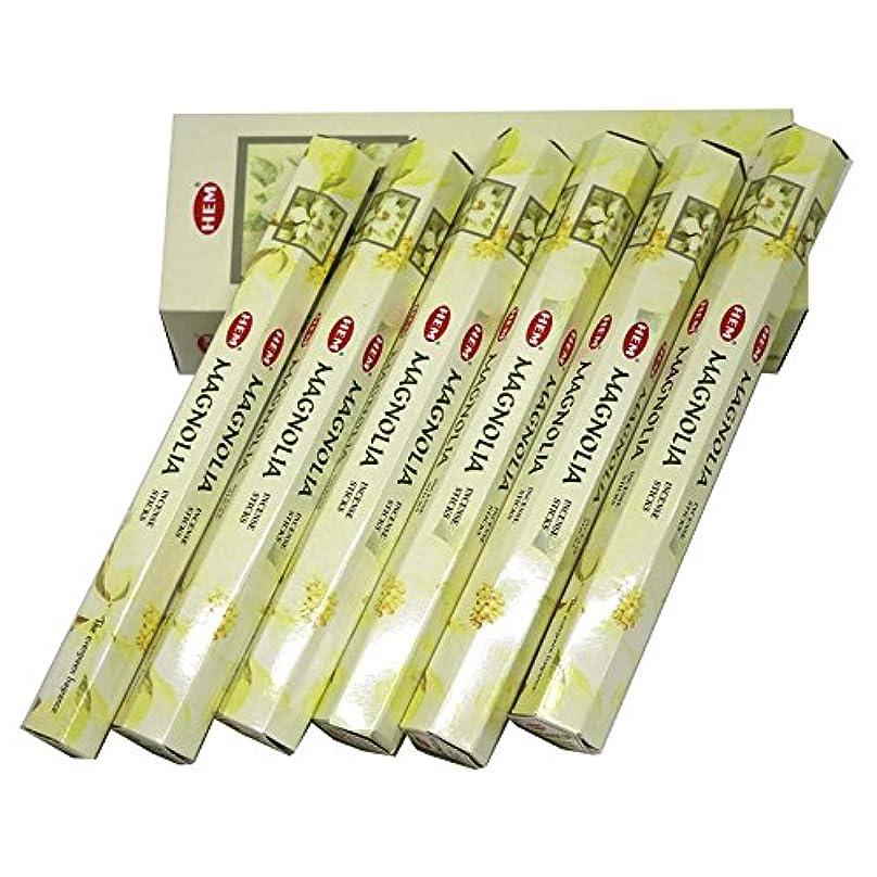 ペレット広くヘルシーHEM社 インド製 ステックタイプ香 1箱20本入 (マグノリア)